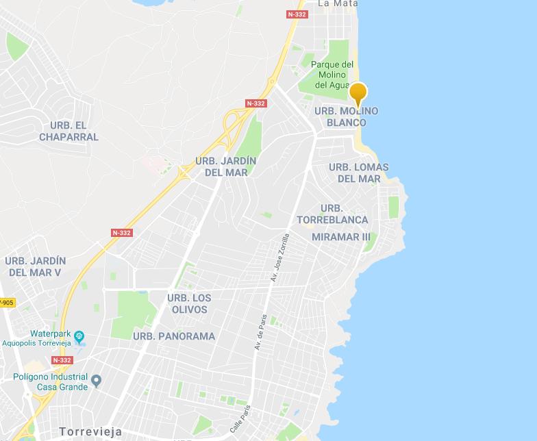 Playa La Mata - Strandvakantie Spanje