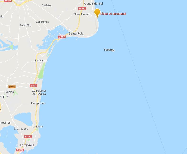Playa de Carabassi - Strandvakantie Spanje