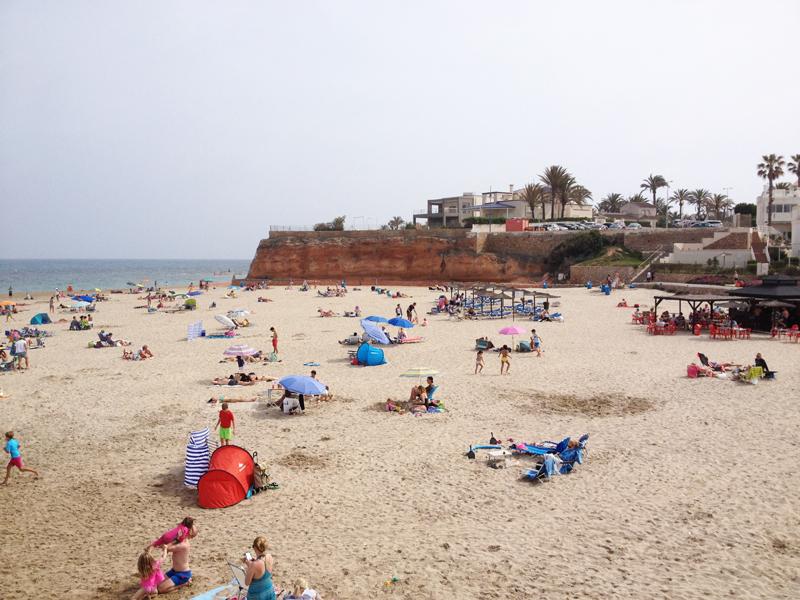 het strand van La Zenia